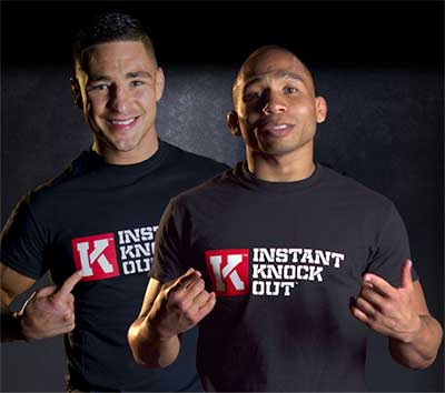 Diego Sanchez and John Dodson