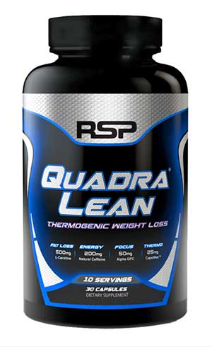 RSP QuadraLean Fat Burner