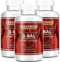 D-Bal muscle bulking supplement. Legal Dianabol